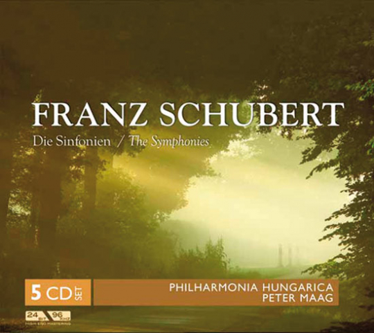 Franz Schubert. Die Sinfonien. 5 CDs.