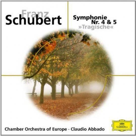 Franz Schubert. Symphonien Nr.4 & 5. CD.