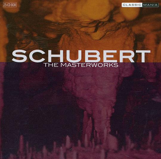 Franz Schubert. The Masterworks. 25 CDs in Box.