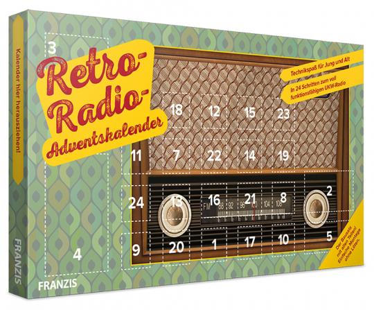 Franzis Retro-Radio-Adventskalender.