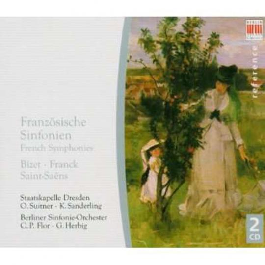 Französische Symphonien. 2 CDs.