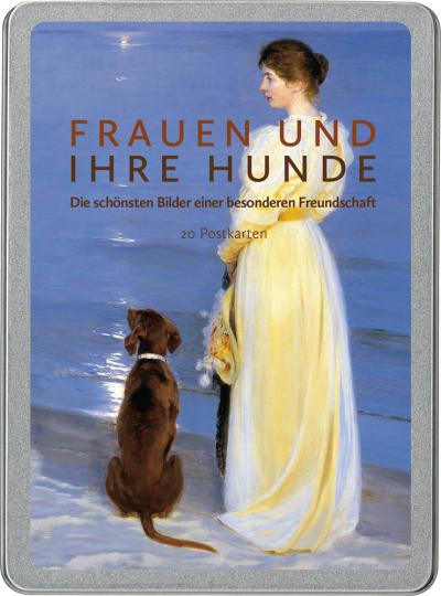 Frauen und ihre Hunde. Die schönsten Bilder einer besonderen Freundschaft. Postkarten-Set.