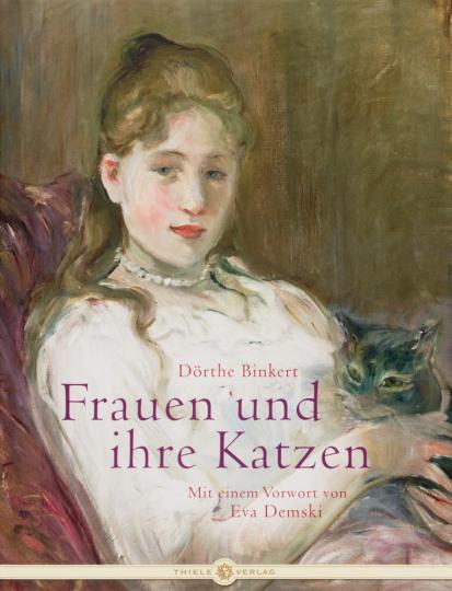 Frauen und ihre Katzen.