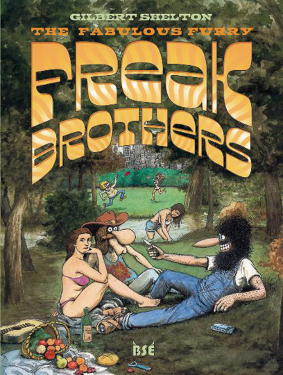 Freak Brothers 2. The Fabulous Furry Freak Brothers. Graphic Novel.