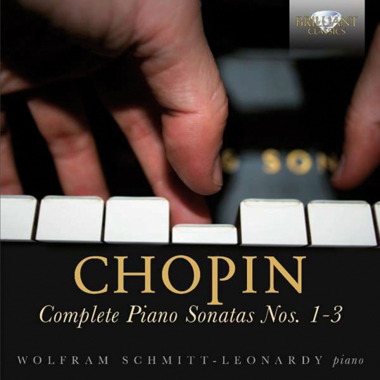 Frédéric Chopin. Klaviersonaten 1-3. 1 CD.