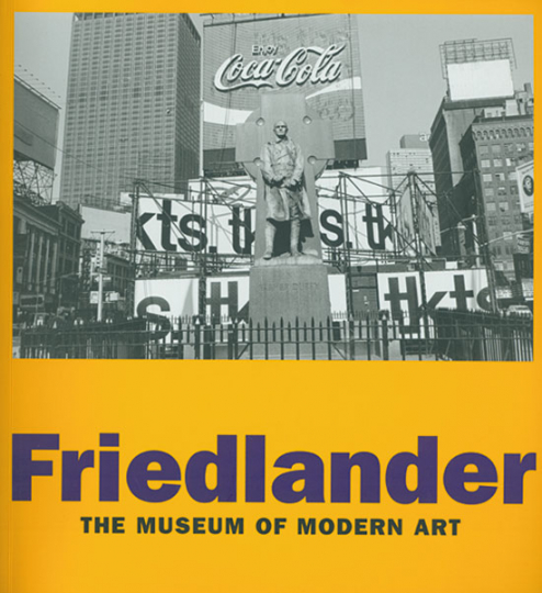 Friedlaender. The Museum of Modern Art.