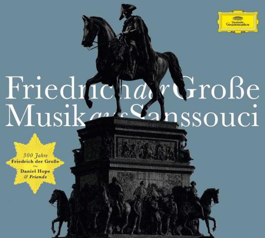 Friedrich der Große - Musik aus Sanssouci. CD.