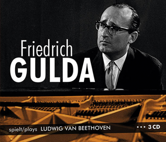 Friedrich Gulda spielt Ludwig van Beethoven.