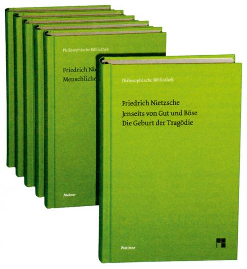 Friedrich Nietzsche. Philosophische Werke in 6 Bänden.