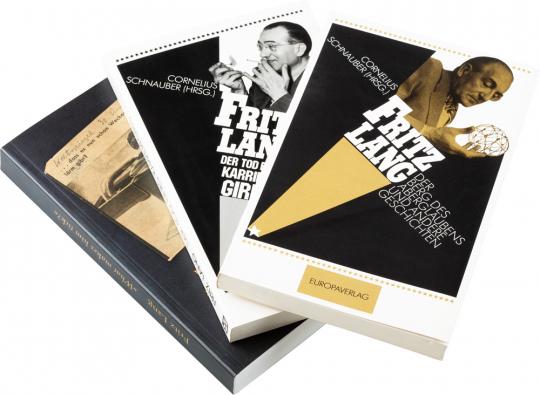 Fritz Lang. Der Berg des Aberglaubens, Der Tod eines Karrieregirls und andere Geschichten. »What makes him sick?« Notizbuch 1929-1934. 3 Bände im Set.