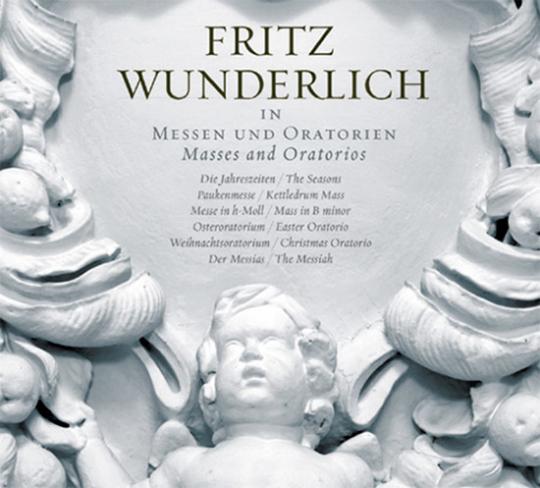 Fritz Wunderlich in Messen und Oratorien. 10 CD-Set.