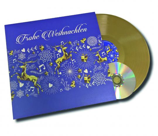 Frohe Weihnachten (remastered) (Golden Vinyl). LP, plus, CD.
