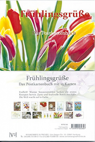 Frühlingsgrüße - Das Postkartenbuch