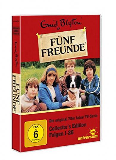 Fünf Freunde. Episoden 1-26. 6 DVD-Box.