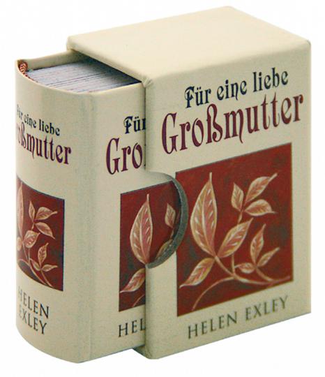 Für eine liebe Großmutter - Minibuch