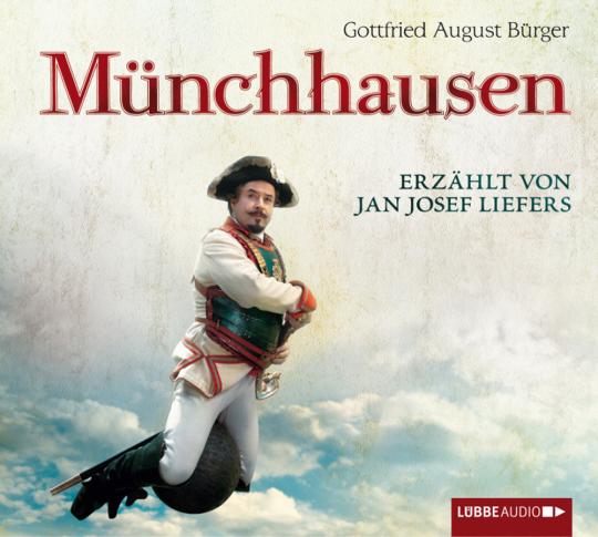 G. A. Bürger. Münchhausen. Wunderbare Reisen des Freiherrn von Münchhausen. 3 CDs.