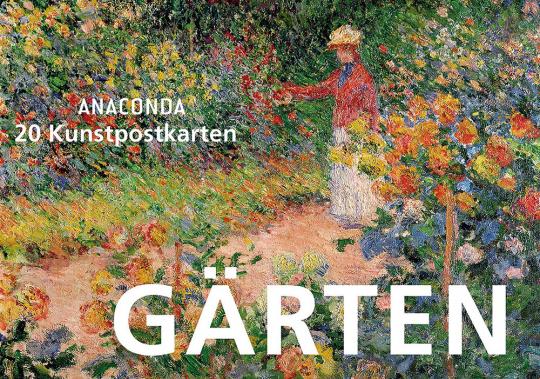 Gärten - 20 Kunstpostkarten