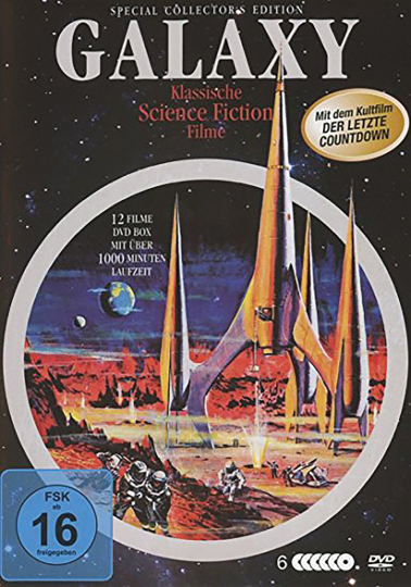 Galaxy Science-Fiction Classic Deluxe-Box. 6 DVDs.