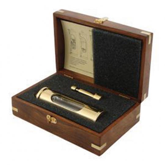 Thermometer »Galileiglas« in luxuriöser Geschenkbox.