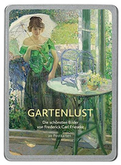 Gartenlust Postkarten-Set.