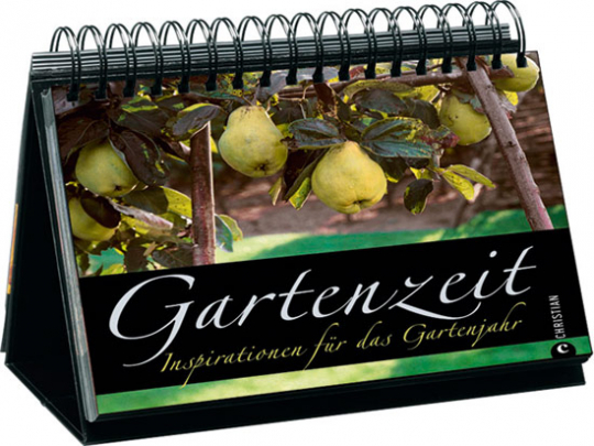 Gartenzeit. Inspirationen für das Gartenjahr. Tischaufsteller.
