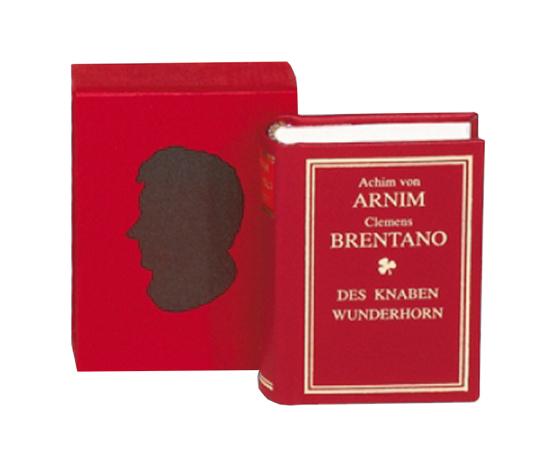 Gedichte: Des Knaben Wunderhorn - Leder-Mini-Ausgabe