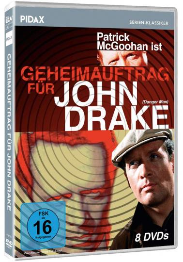 Geheimauftrag für John Drake. 8 DVDs.