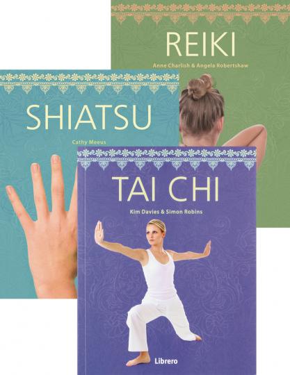 Geheime Künste Set. Reiki, Shiatsu, Tai Chi.