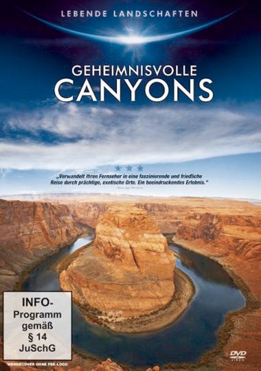 Geheimnisvolle Canyons DVD