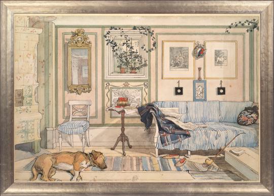 Gemütliche Ecke. Carl Larsson (1853-1919).