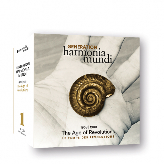 Generation harmonia mundi 1958-1988 »The Age of Revolution«. 16 CDs.