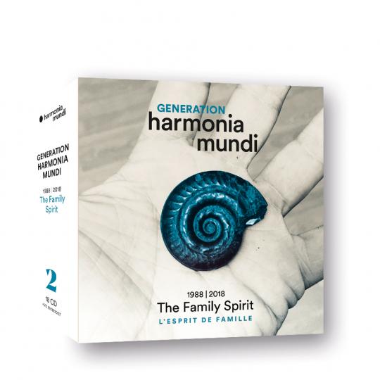 Generation harmonia mundi. 1988 - 2018. »The Family Spirit«. 18 CDs.