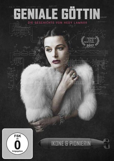 Geniale Göttin. Die Geschichte von Hedy Lamarr. DVD.