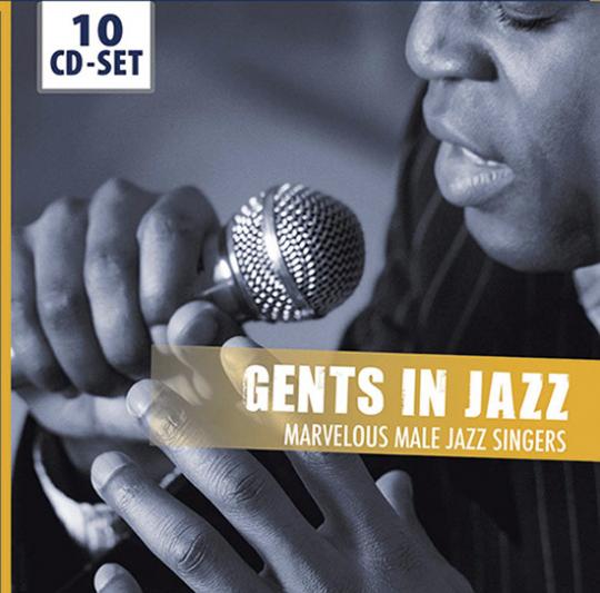 Gents in Jazz. Marvelous Male Jazz Singers. 10 CDs.