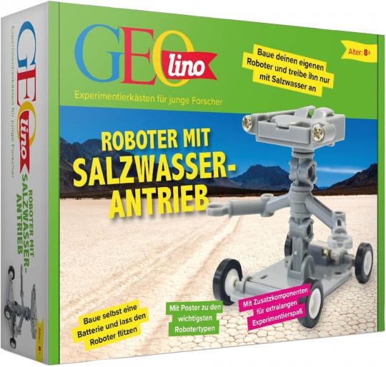 GEOlino - Roboter mit Salzwasserantrieb.