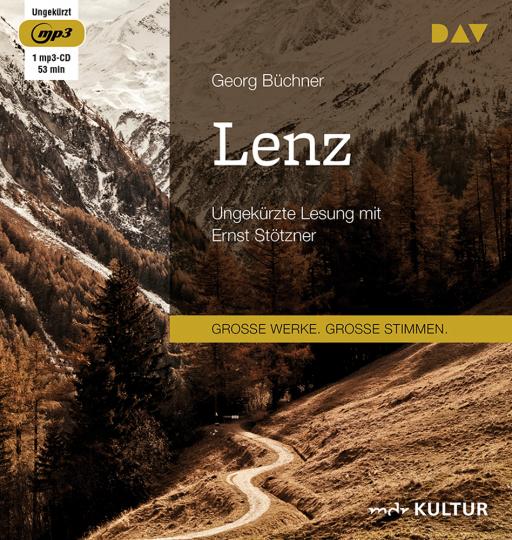 Georg Büchner. Lenz. Ungekürzte Lesung. 1 mp3-CD.