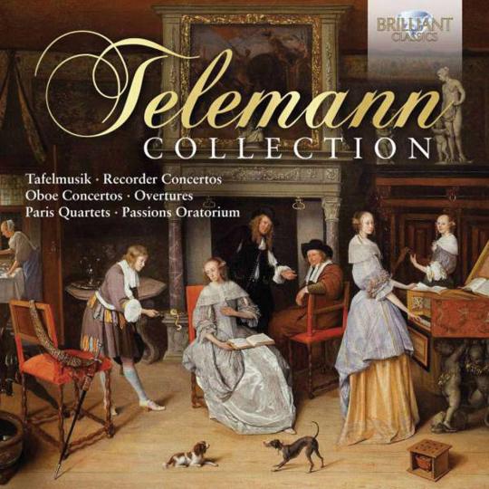 Georg Philipp Telemann. Telemann Collection. 10 CDs.