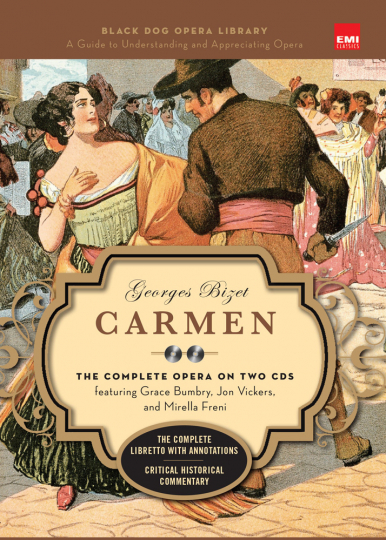 George Bizet. Carmen. Black Dog and Leventhals Opera Library. 2 CDs.