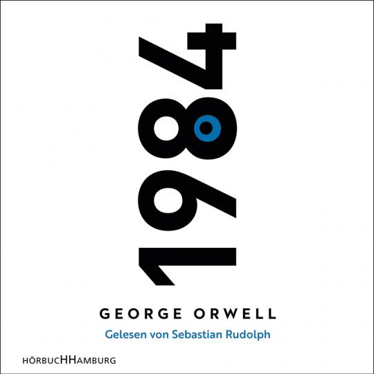 George Orwell. 1984. Hörbuch. 2 mp3-CDs.