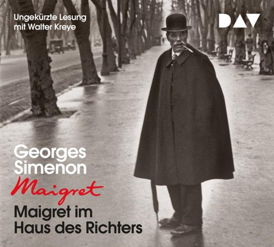 Georges Simenon. Maigret im Haus des Richters. 4 CDs.