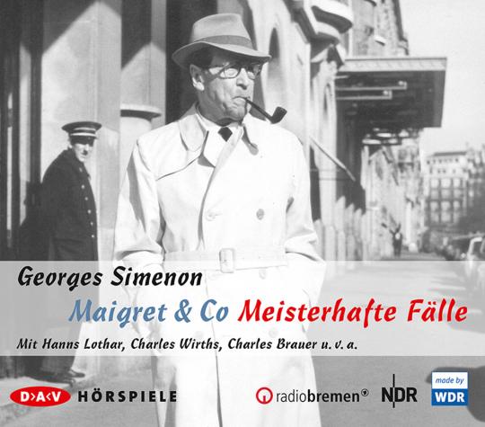 Georges Simenon. Maigret & Co. Meisterhafte Fälle. Hörspiel. 5 CDs.