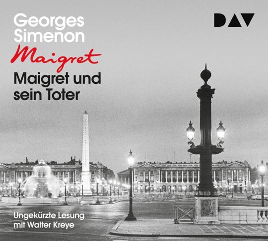 Georges Simenon. Maigret und sein Toter. 5 CDs.