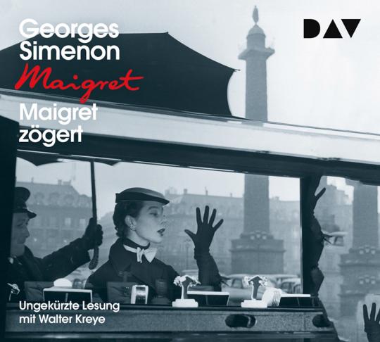 Georges Simenon. Maigret zögert. 4 CDs.
