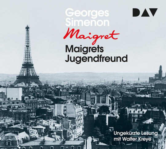 Georges Simenon. Maigrets Jugendfreund. 4 CDs.