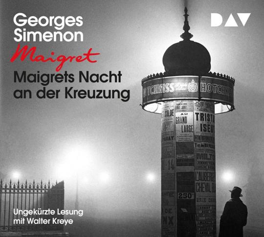 Georges Simenon. Maigrets Nacht an der Kreuzung. 3 CDs.
