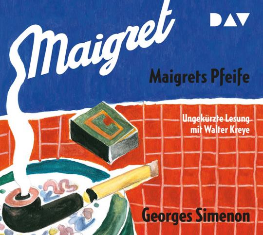 Georges Simenon. Maigrets Pfeife. 2 CDs.