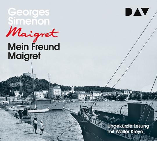 Georges Simenon. Mein Freund Maigret. 4 CDs.