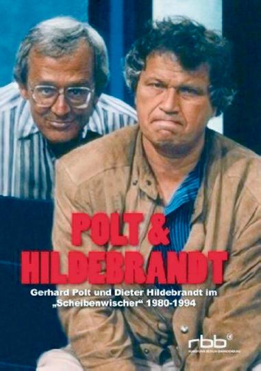 Polt & Hildbrandt - Gerhard Polt und Dieter Hildebrandt im Scheibenwischer 1980-1994. 2 DVDs.