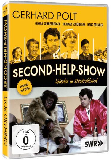 Gerhard Polt: Second Help Show - Wieder in Deutschland. DVD.