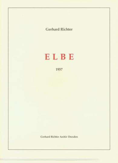Gerhard Richter. Elbe. 31 Monotypien 1957.